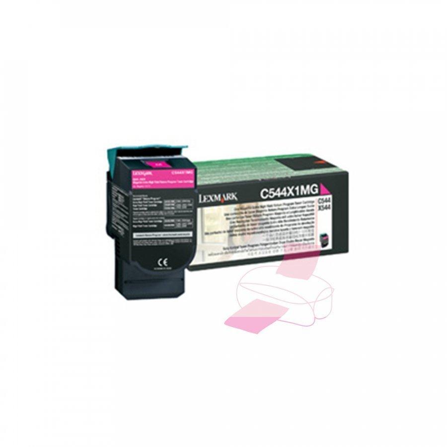 Lexmark 0C544X1MG Magenta Värikasetti