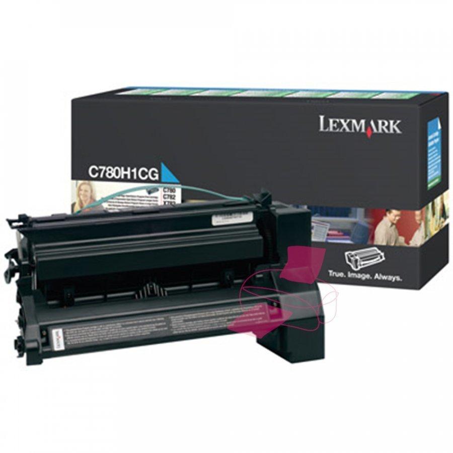 Lexmark 0C780H1CG Cyan Värikasetti