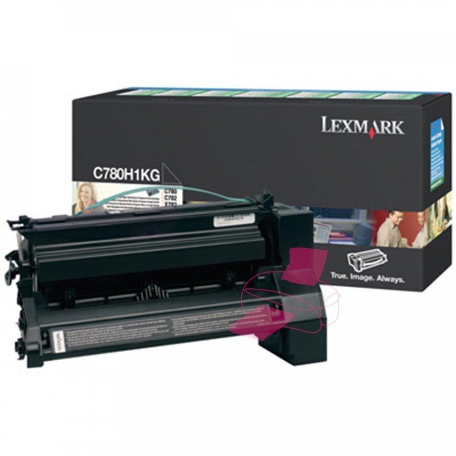 Lexmark 0C780H1KG Musta Värikasetti