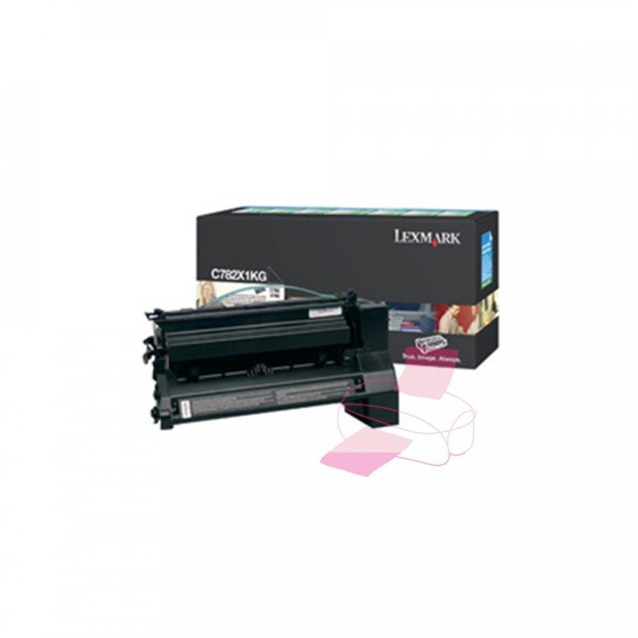 Lexmark 0C782X1KG Musta Värikasetti