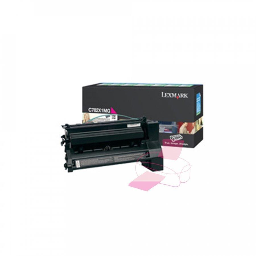 Lexmark 0C782X1MG Magenta Värikasetti