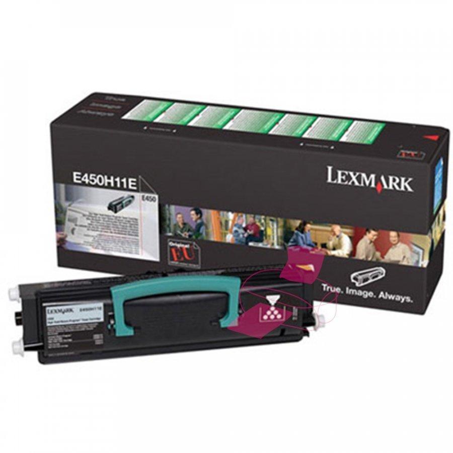Lexmark 0E450H11E Musta Värikasetti