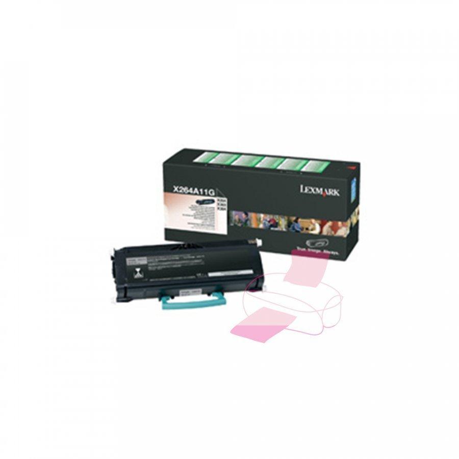 Lexmark 0X264A11G Musta Värikasetti