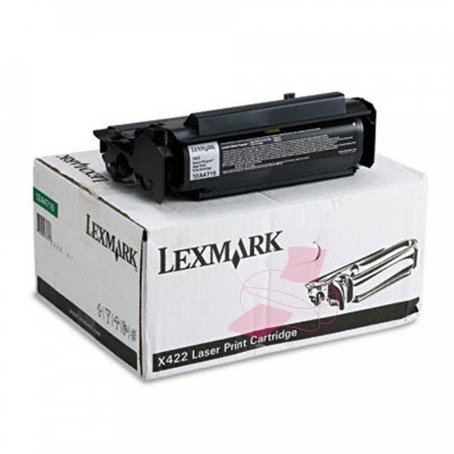 Lexmark 12A4715 Musta Värikasetti