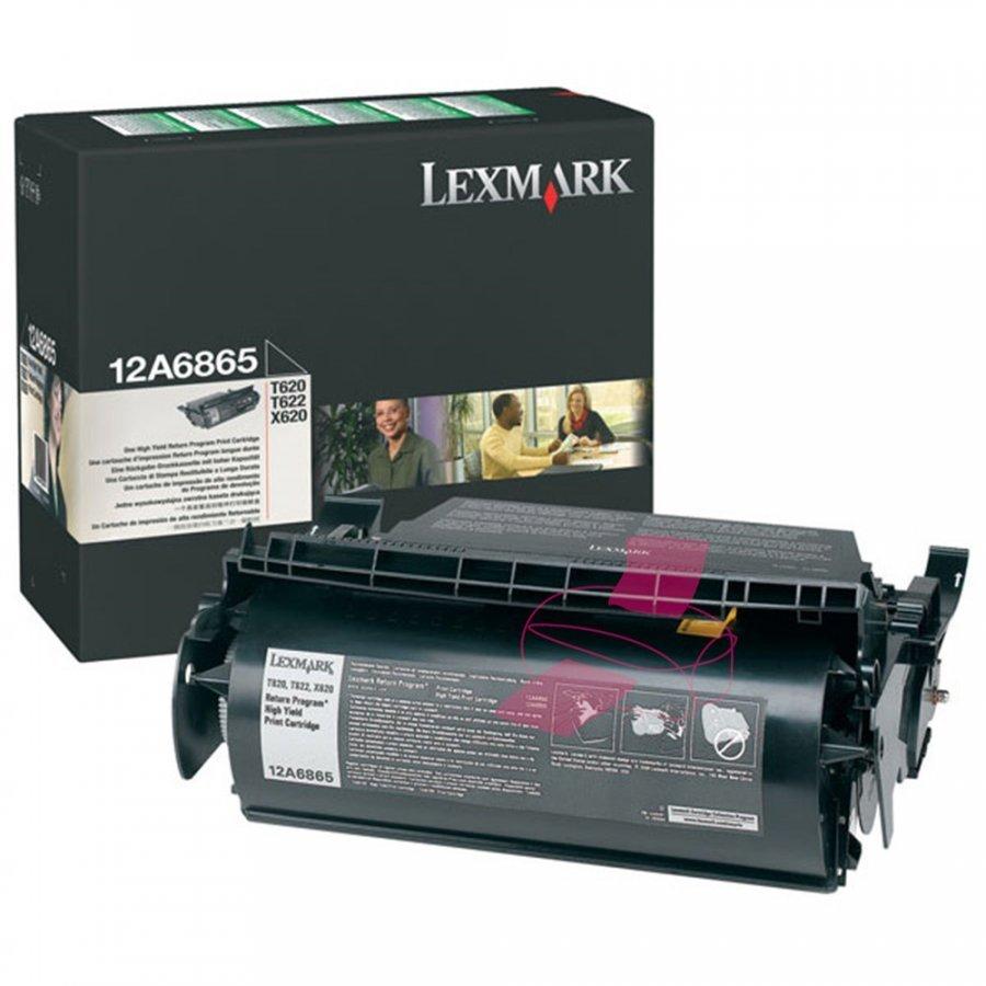 Lexmark 12A6865 Musta Värikasetti