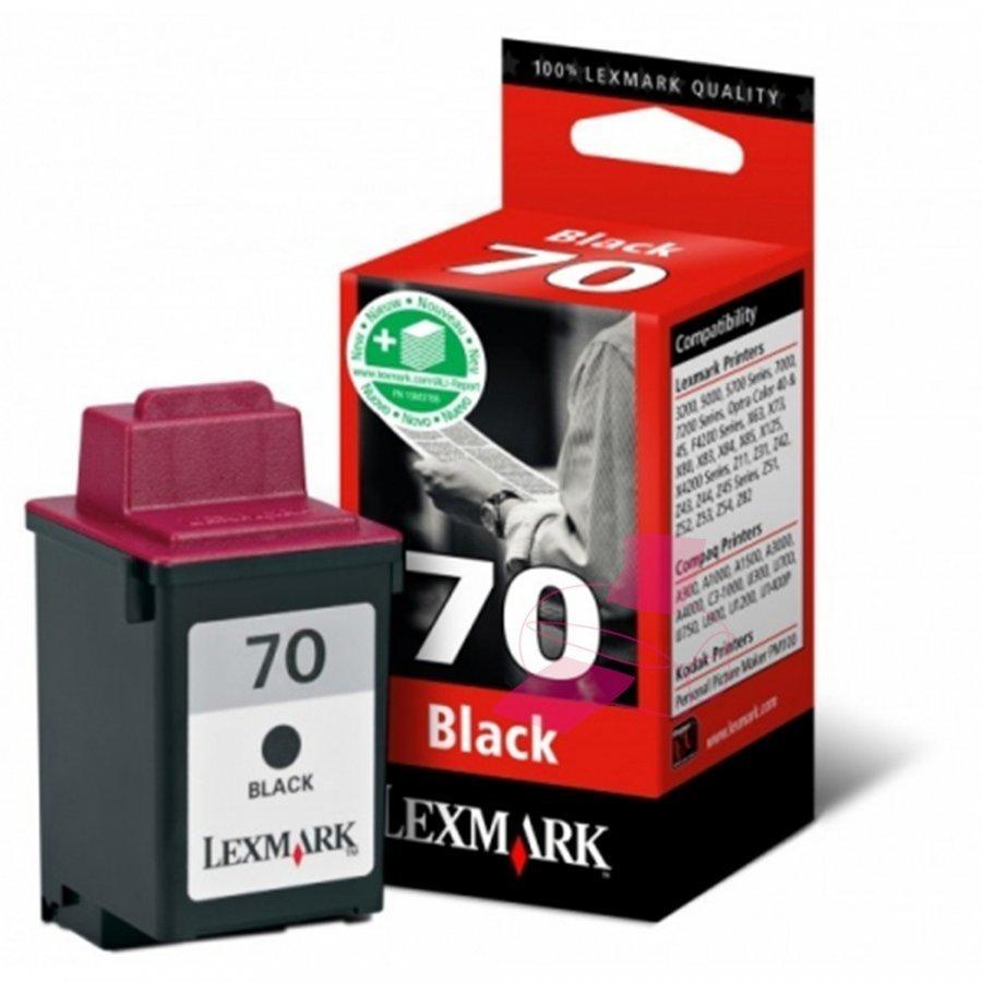 Lexmark 12AX970E Musta Mustekasetti