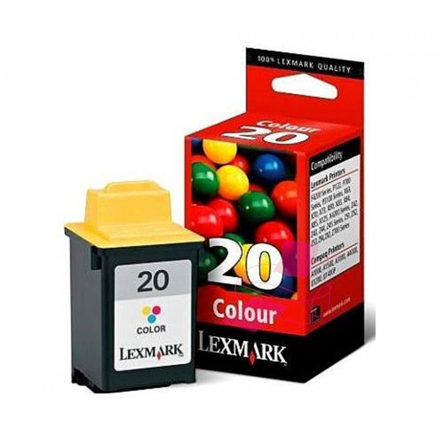 Lexmark 15MX120E Kolmevärinen Mustekasetti