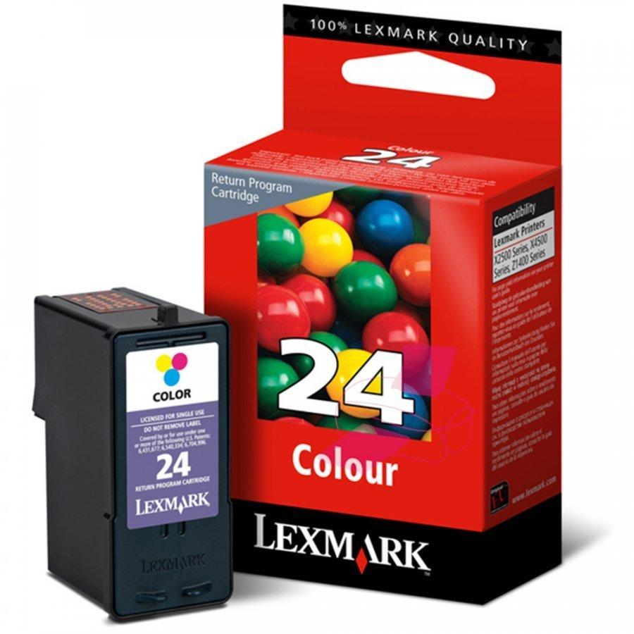 Lexmark 18C1524E Kolmevärinen Mustekasetti