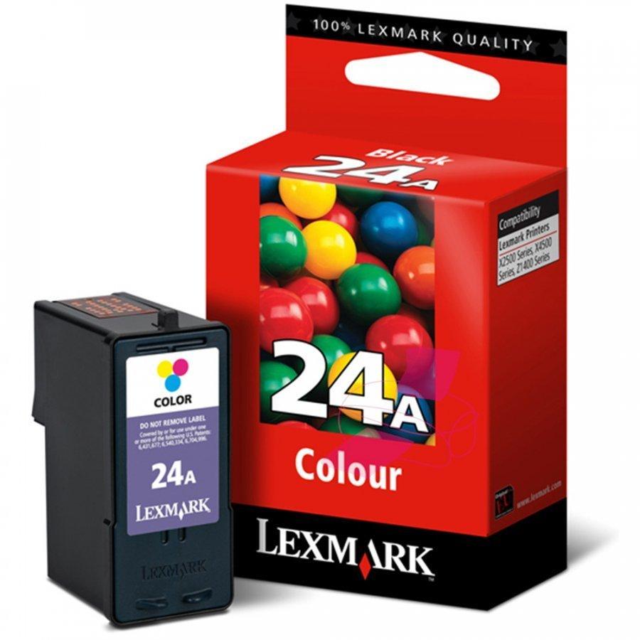 Lexmark 18C1624E Kolmevärinen Mustekasetti
