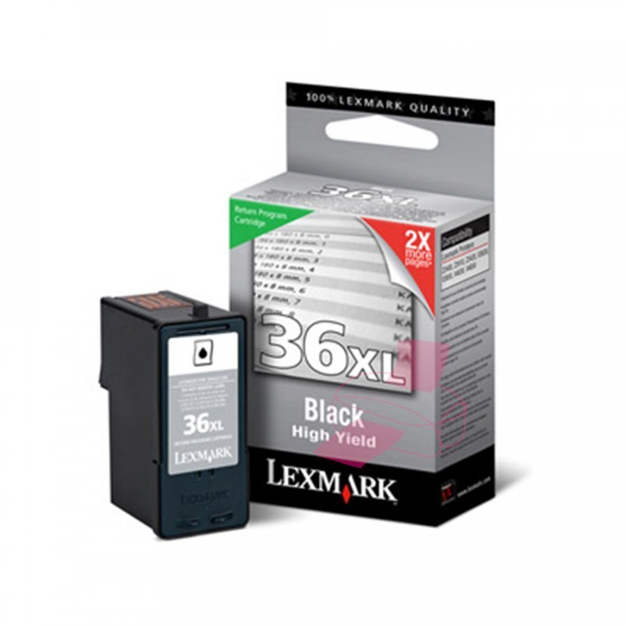 Lexmark 18C2170E Musta Mustekasetti