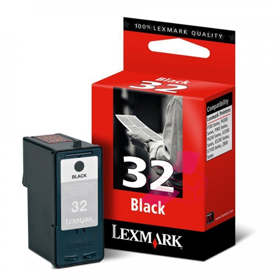 Lexmark 18CX032E Musta Mustekasetti