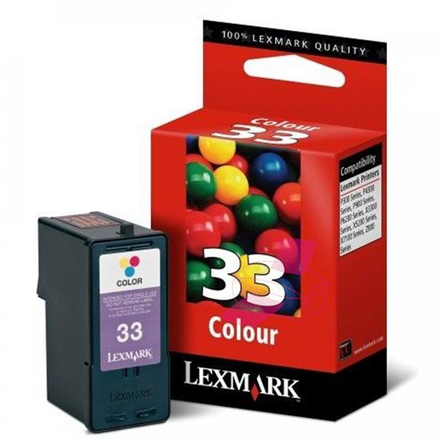 Lexmark 18CX033E Kolmevärinen Mustekasetti