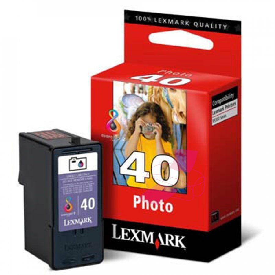 Lexmark 18Y0340 Photoväri Mustekasetti