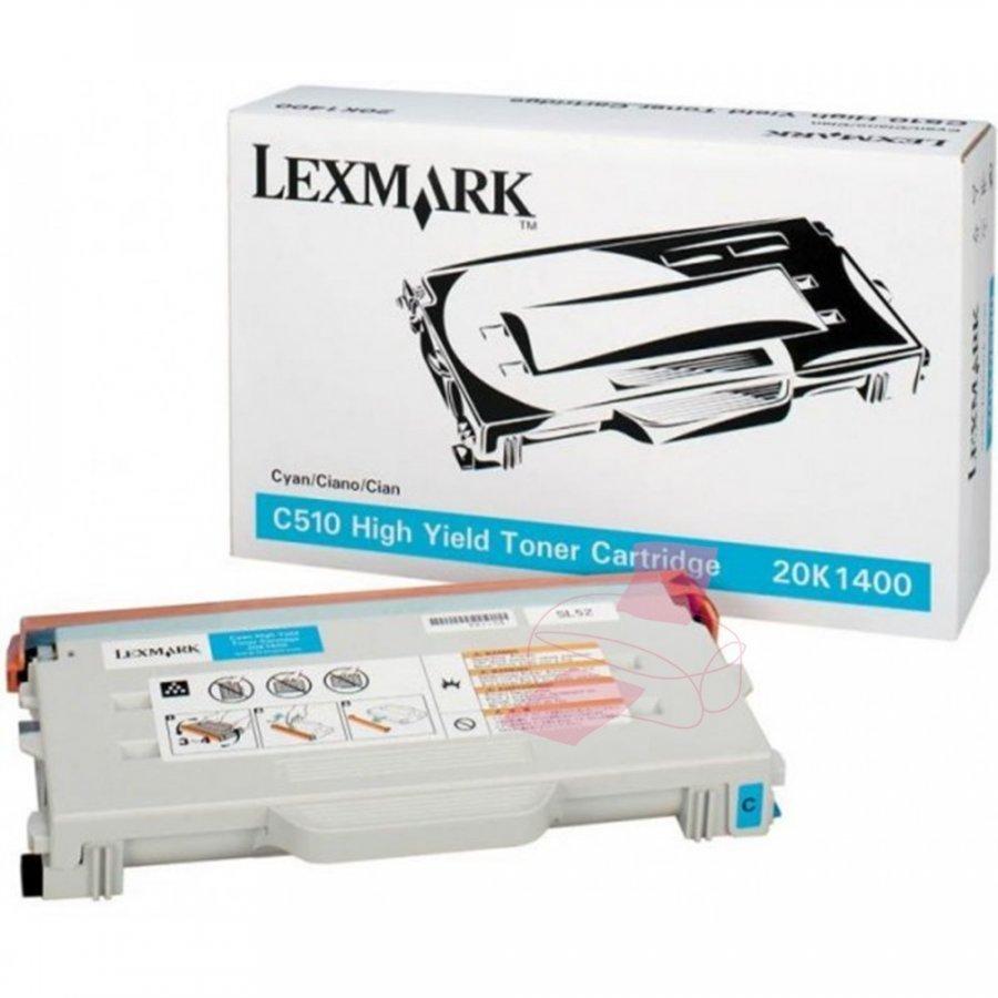 Lexmark 20K1400 Cyan Värikasetti