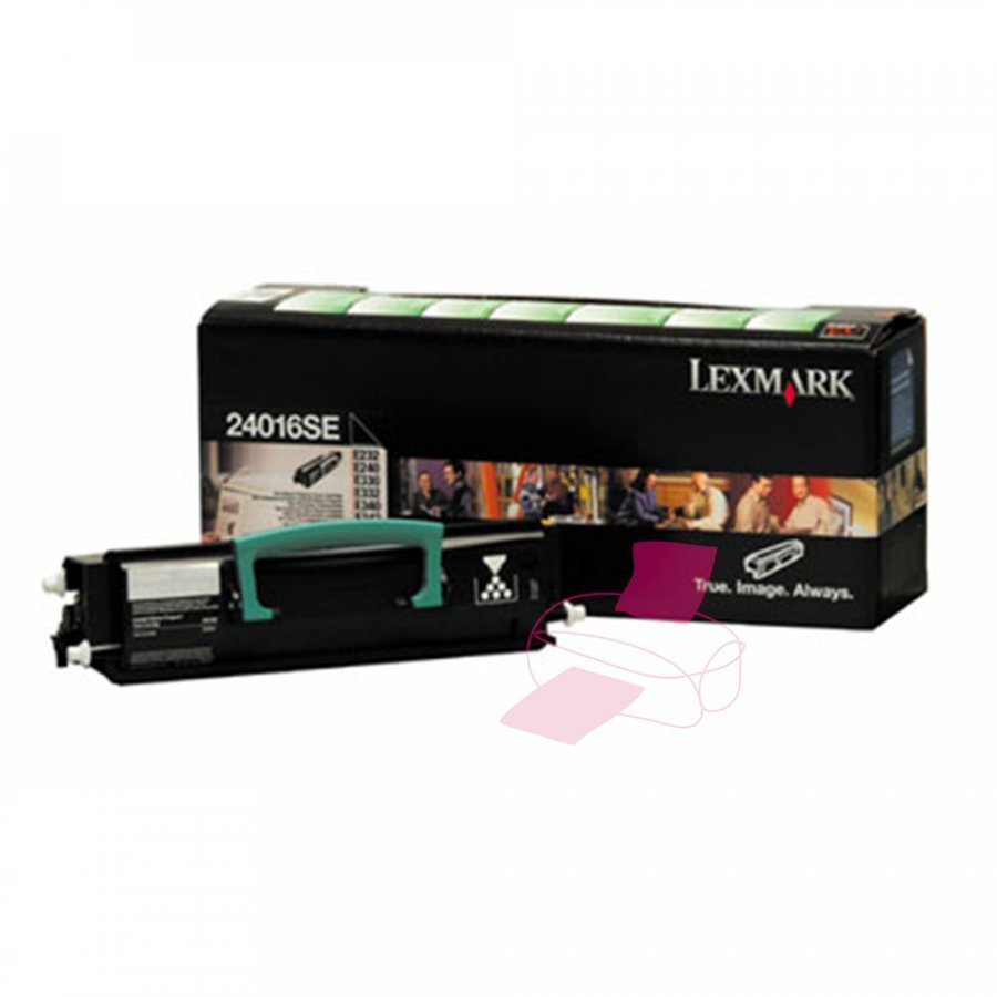 Lexmark 24016SE Musta Värikasetti