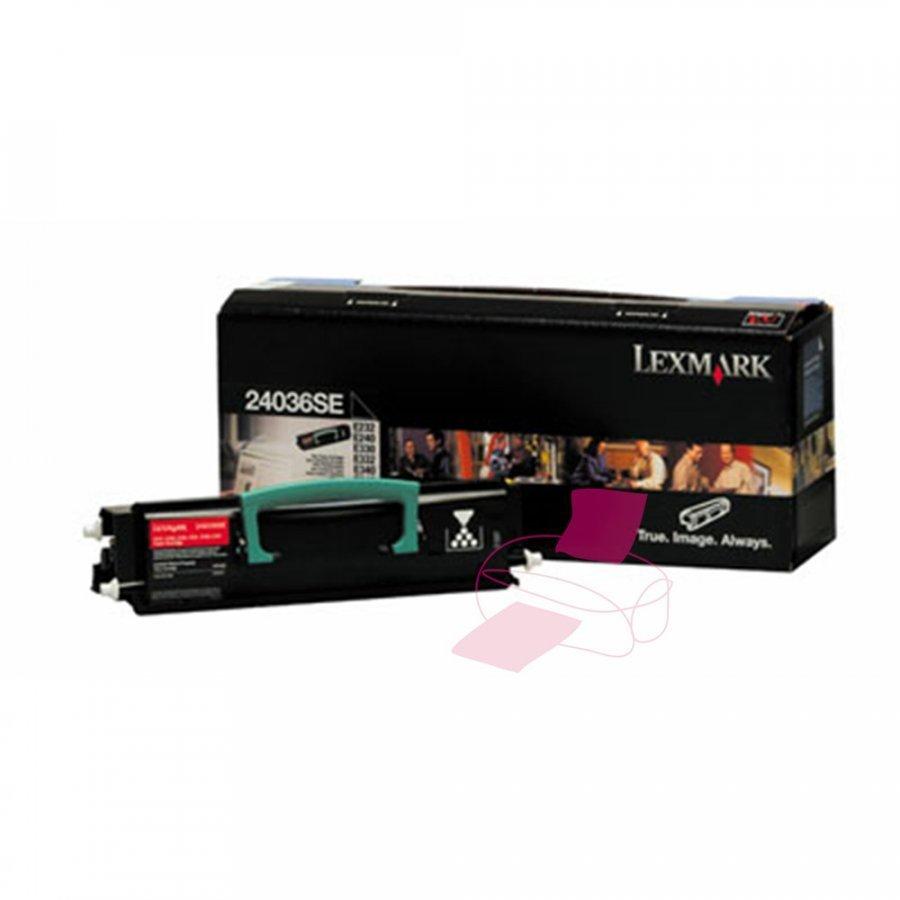 Lexmark 24036SE Musta Värikasetti