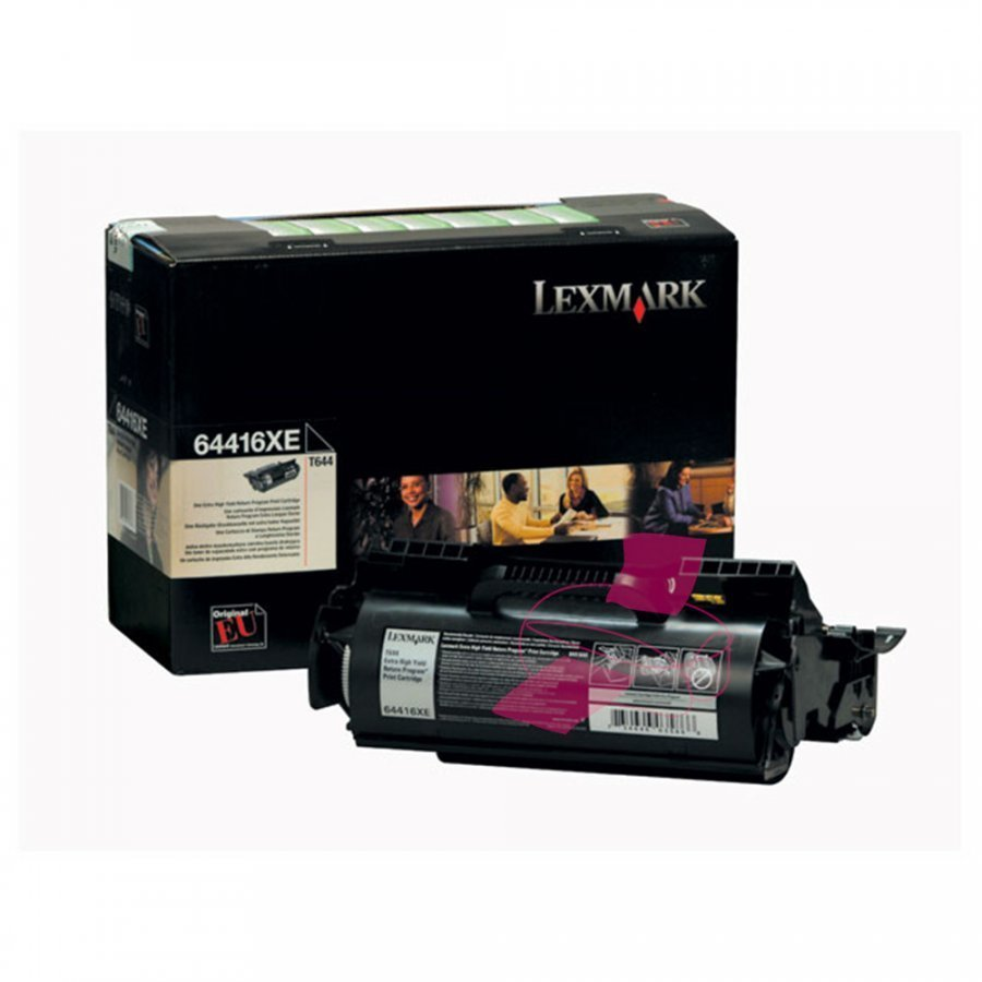 Lexmark 64416XE Musta Värikasetti