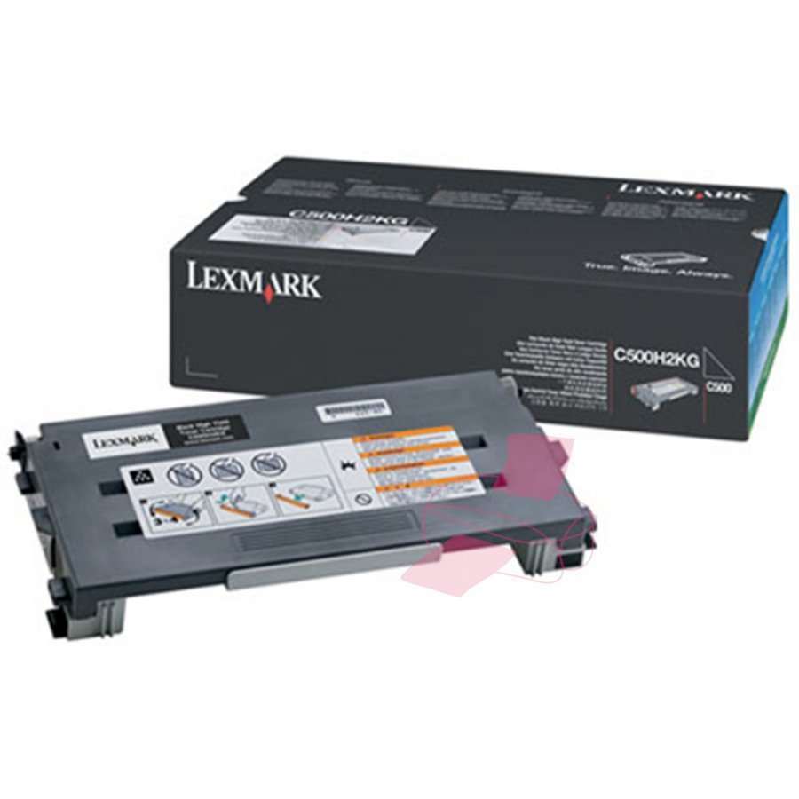 Lexmark C500H2KG Musta Värikasetti