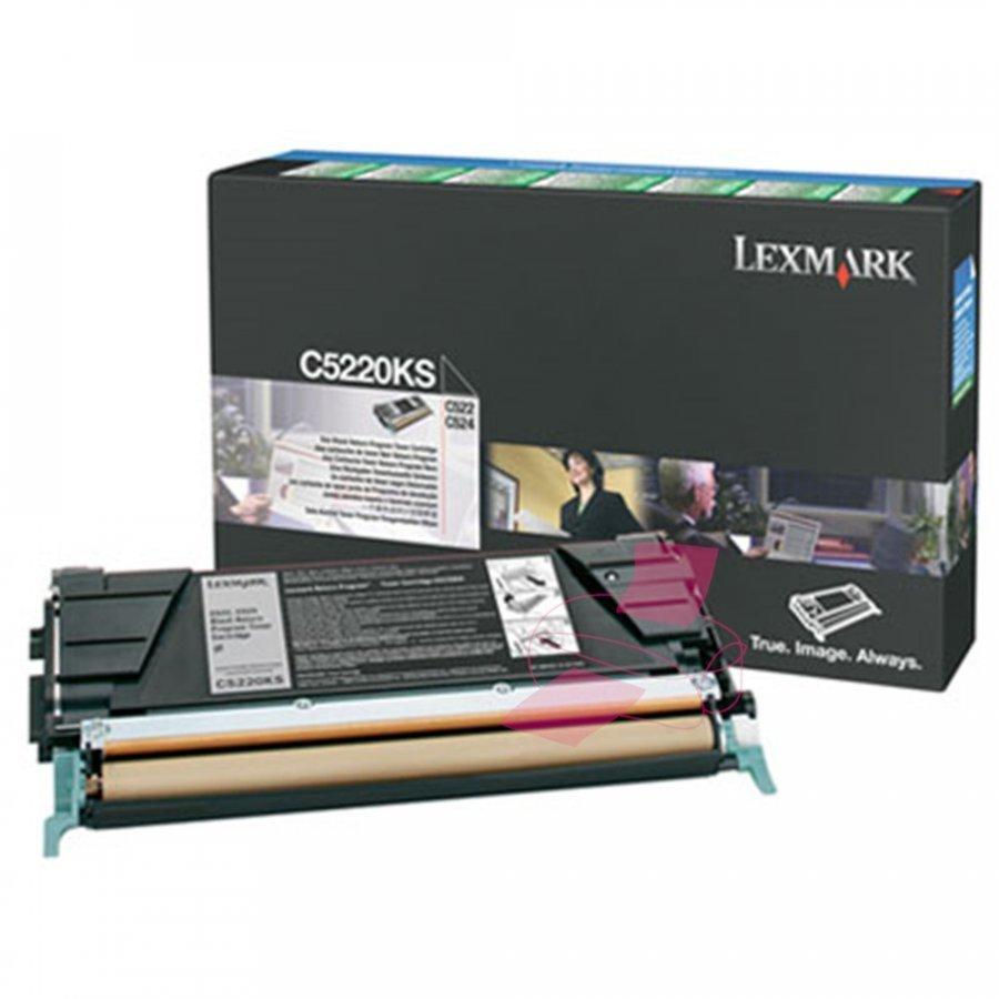 Lexmark C5220KS Musta Värikasetti