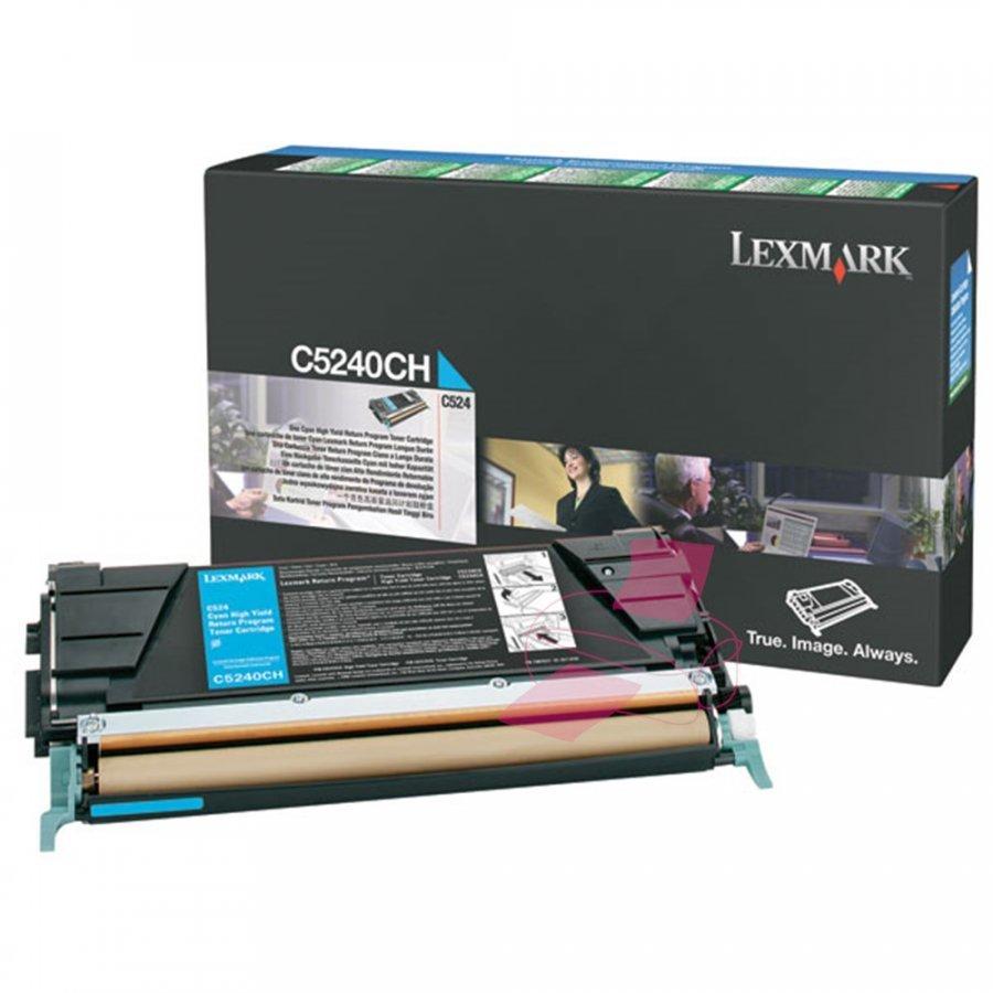 Lexmark C5240CH Cyan Värikasetti