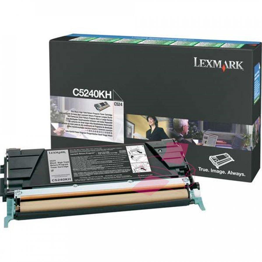 Lexmark C5240KH Musta Värikasetti
