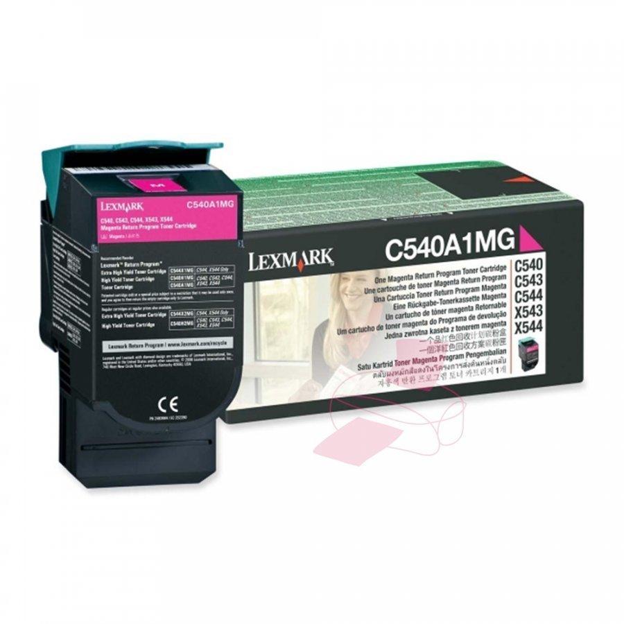 Lexmark C540A1MG Magenta Värikasetti
