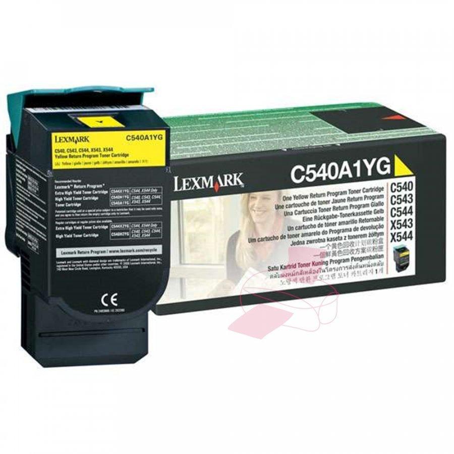 Lexmark C540A1YG Keltainen Värikasetti