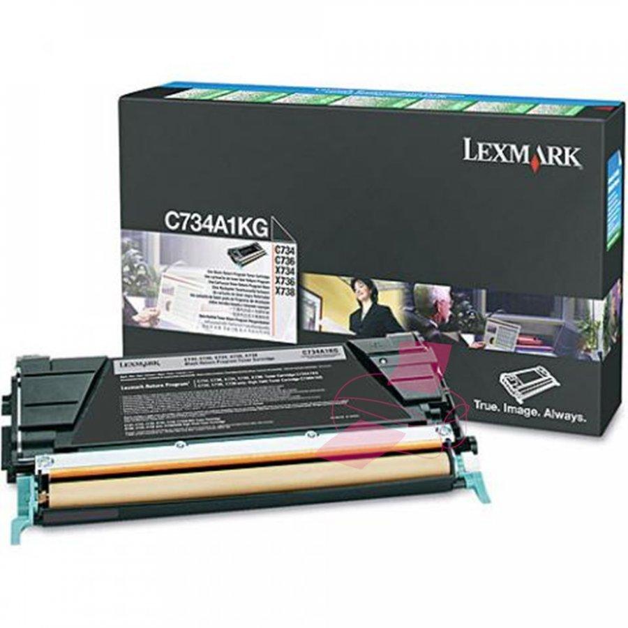 Lexmark C734A1KG Musta Värikasetti