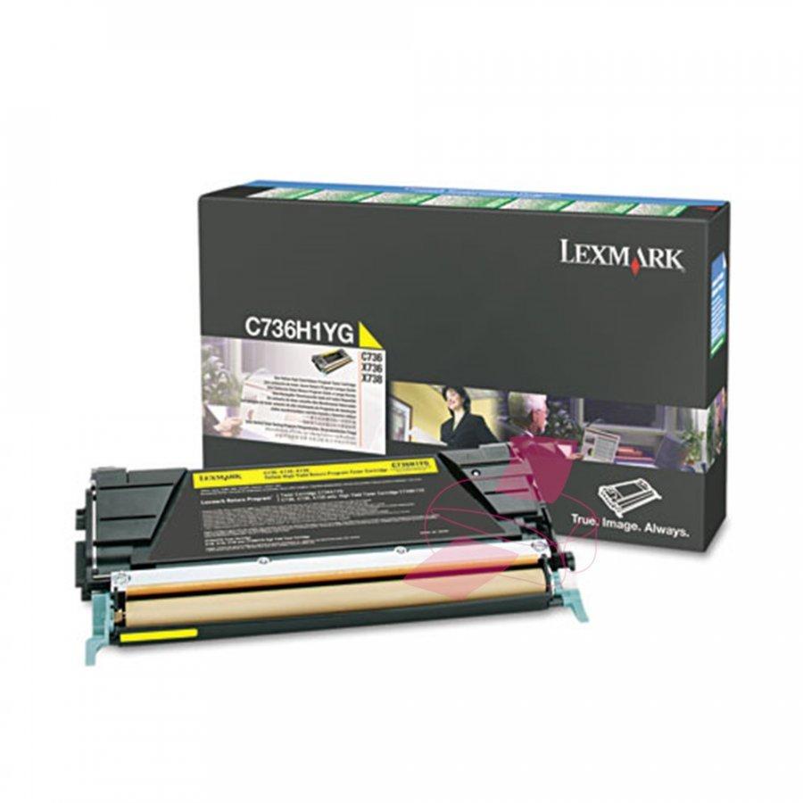 Lexmark C736H1YG Keltainen Värikasetti