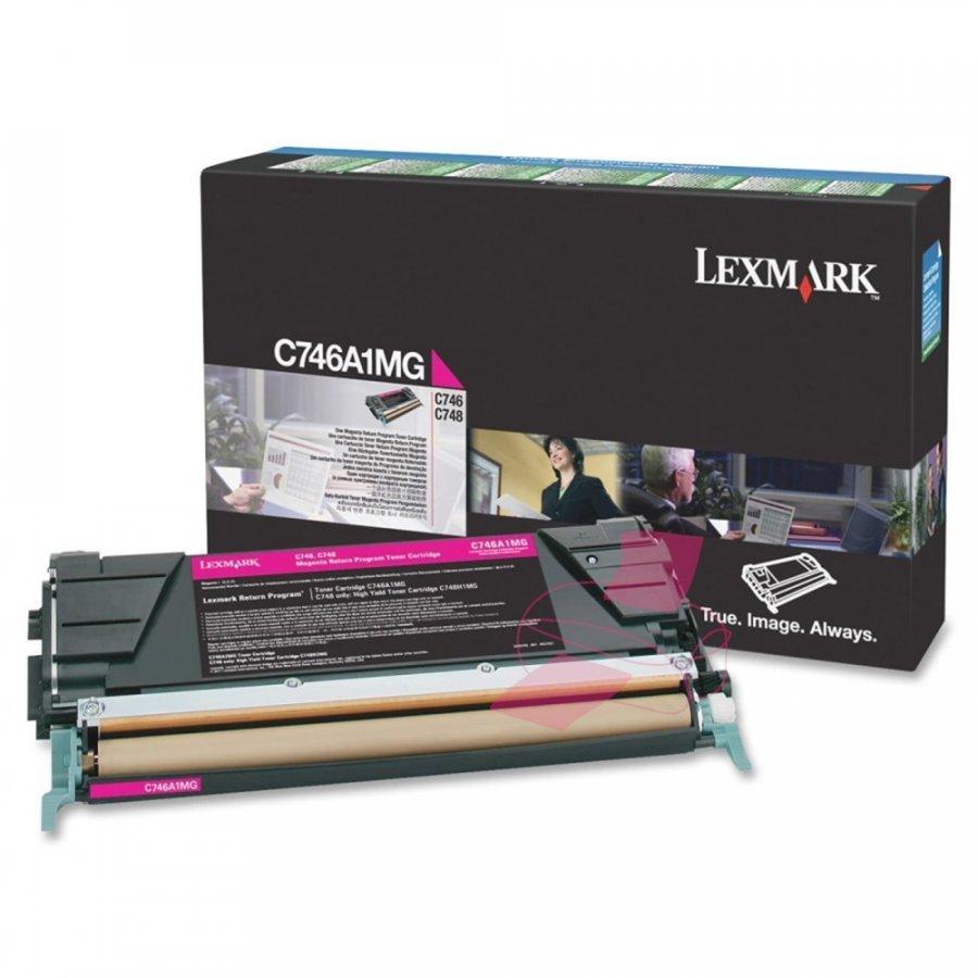 Lexmark C746A1MG Magenta Värikasetti