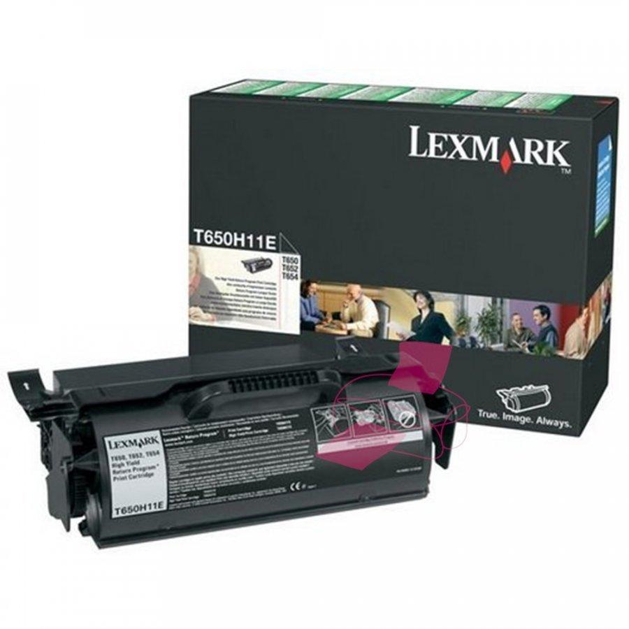 Lexmark T650H11E Musta Värikasetti