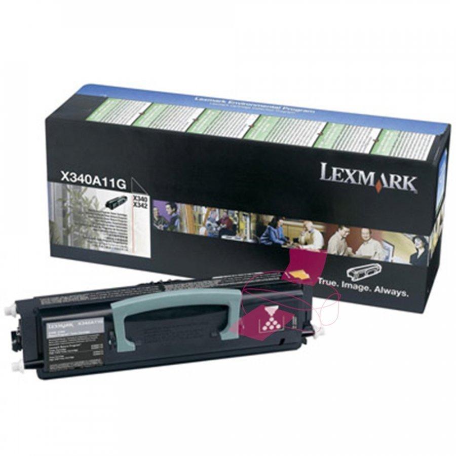 Lexmark X340A11G Musta Värikasetti