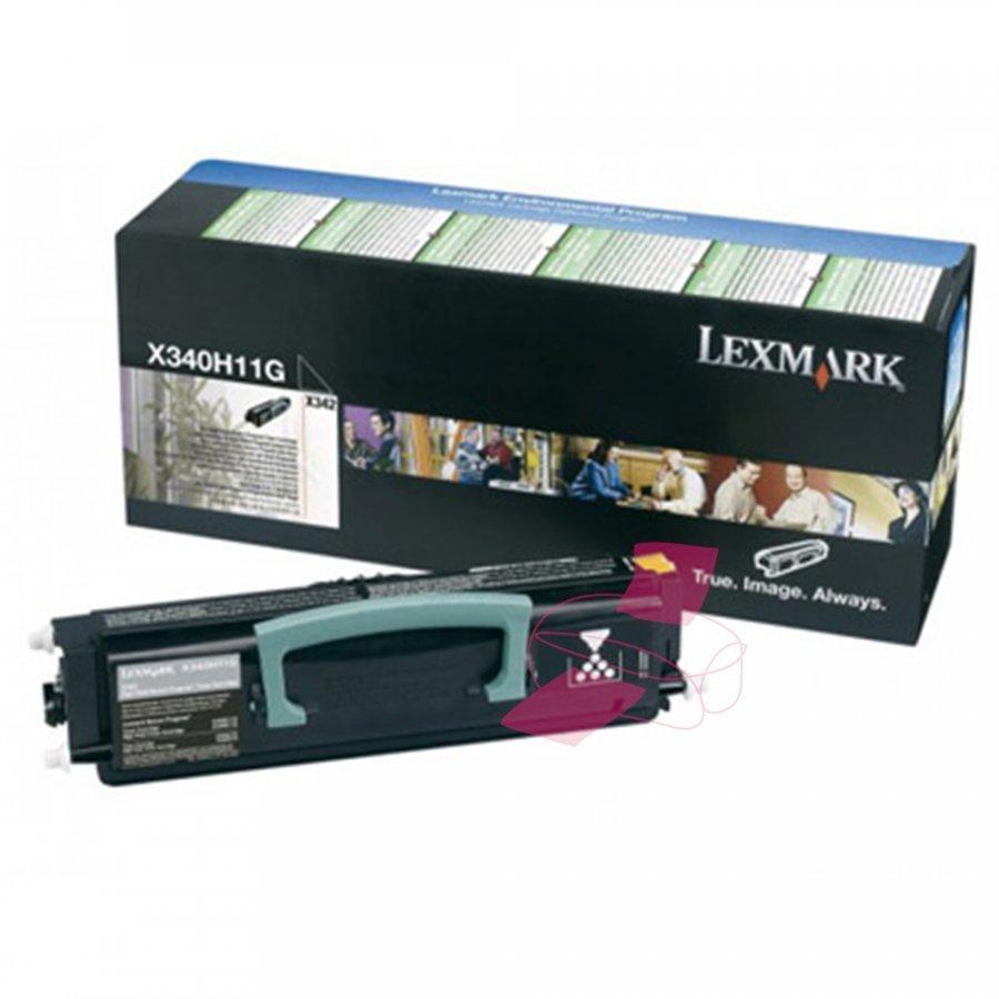 Lexmark X340H11G Musta Värikasetti