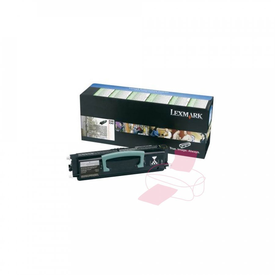Lexmark X340H31E Musta Värikasetti
