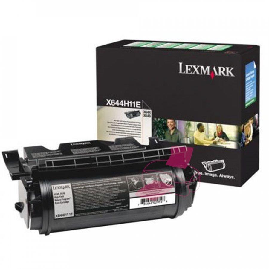 Lexmark X644H11E Musta Värikasetti