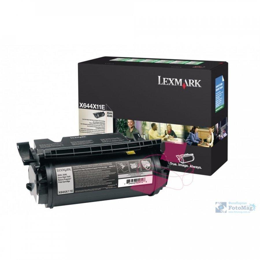 Lexmark X644X11E Musta Värikasetti