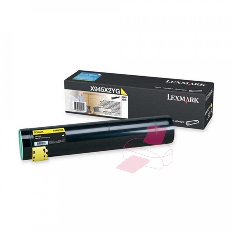 Lexmark X945X2YG Keltainen Värikasetti