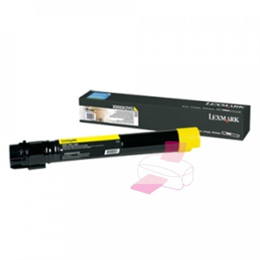 Lexmark X950X2YG Keltainen Värikasetti
