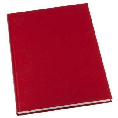 Muistikirja Grieg Design A4 Viivoitettu Punainen