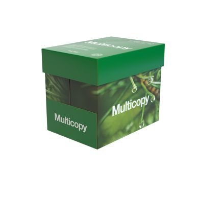 Multicopy A4 80g Rei'ittämätön 5x500/Pakkaus