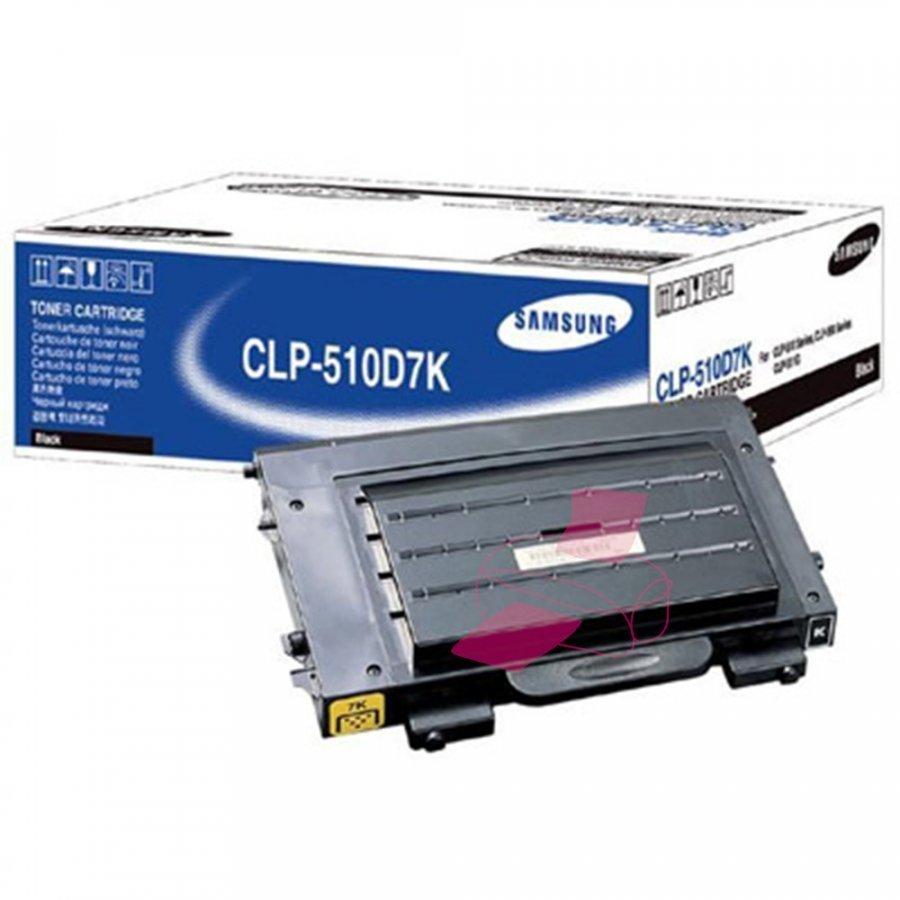 Samsung CLP-510D7K Musta Värikasetti