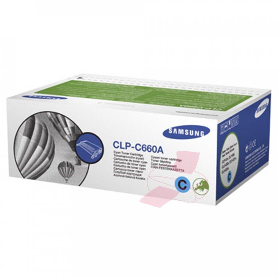 Samsung CLP-C660A Cyan Värikasetti