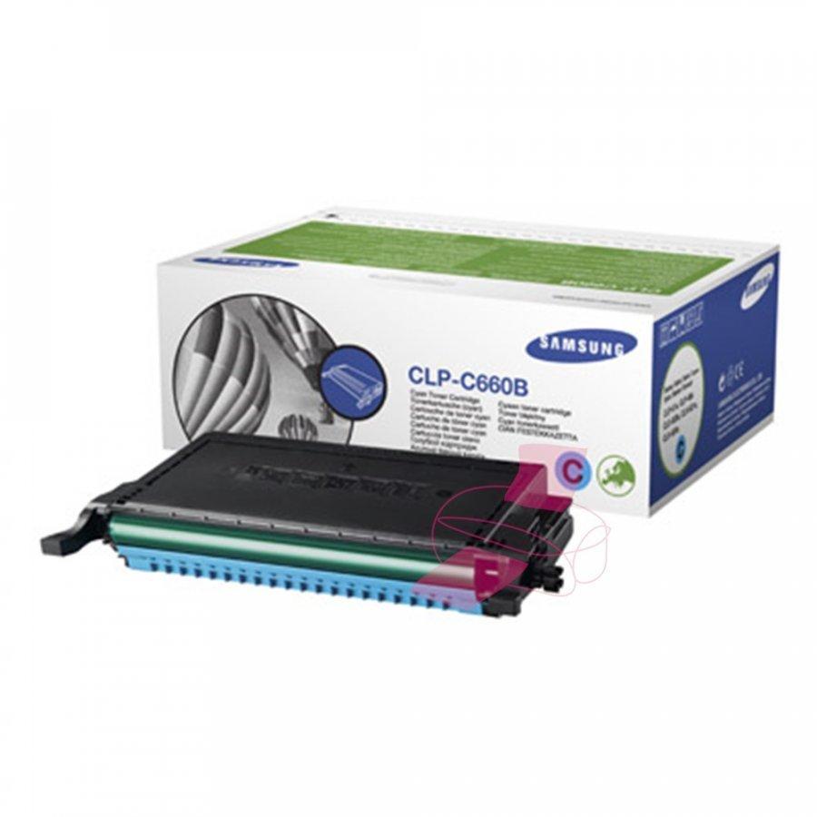 Samsung CLP-C660B Cyan Värikasetti