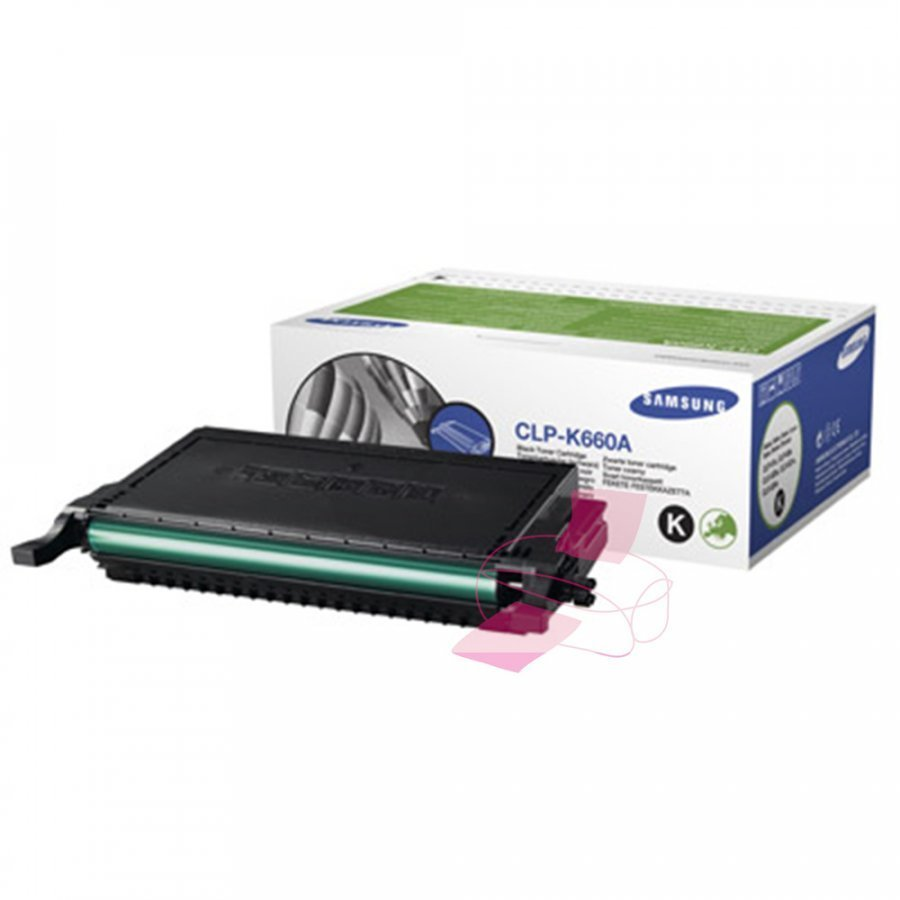 Samsung CLP-K660A Musta Värikasetti