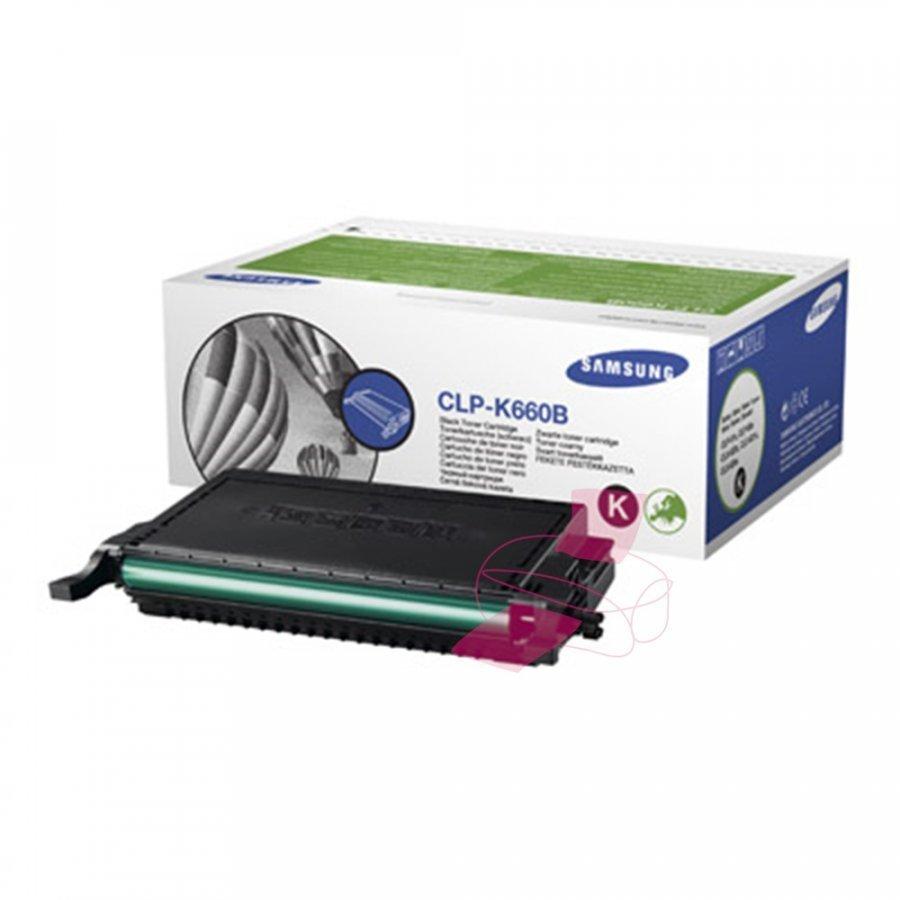 Samsung CLP-K660B Musta Värikasetti