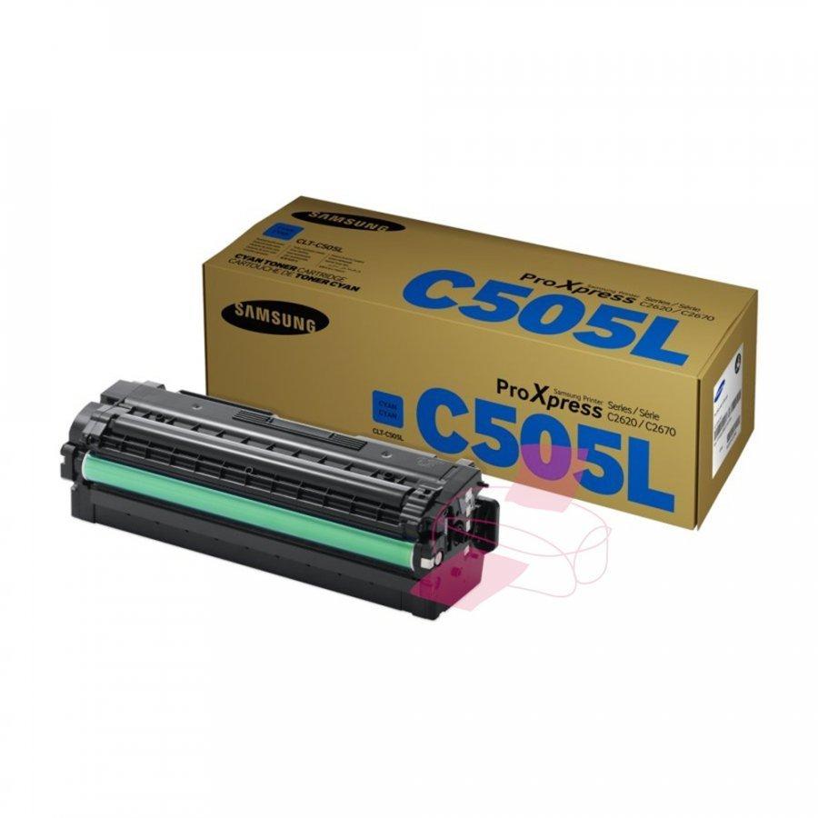 Samsung CLT-C505L Cyan Värikasetti
