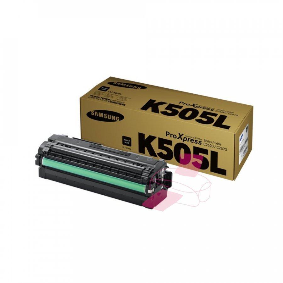 Samsung CLT-K505L Musta Värikasetti
