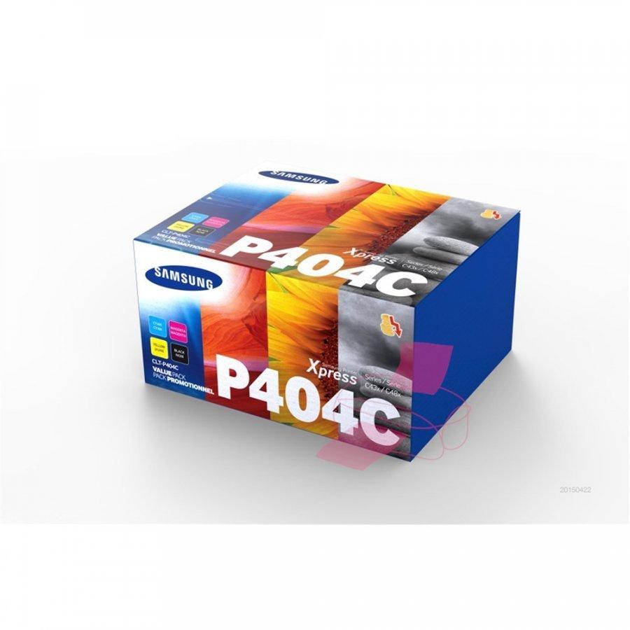 Samsung CLT-P404C Neljä Väriä Värikasetti