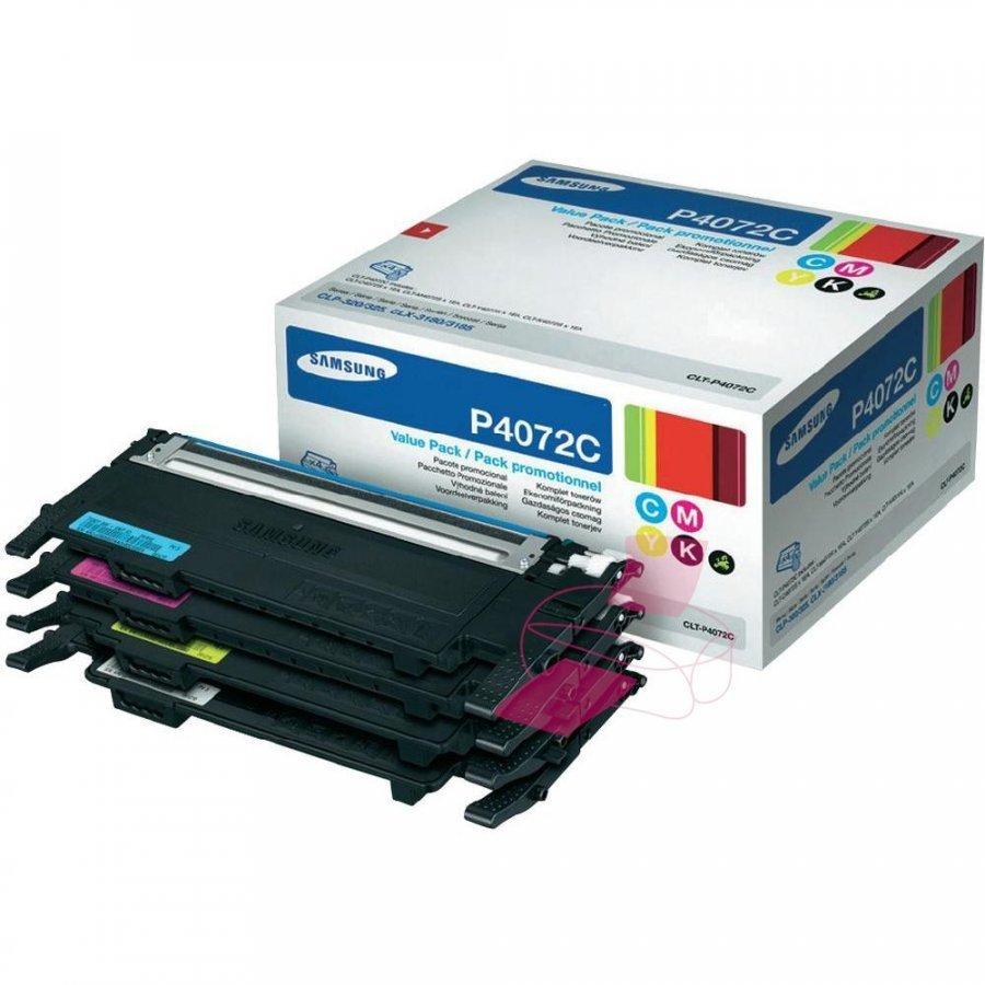 Samsung CLT-P4072C Neljä Väriä Värikasetti