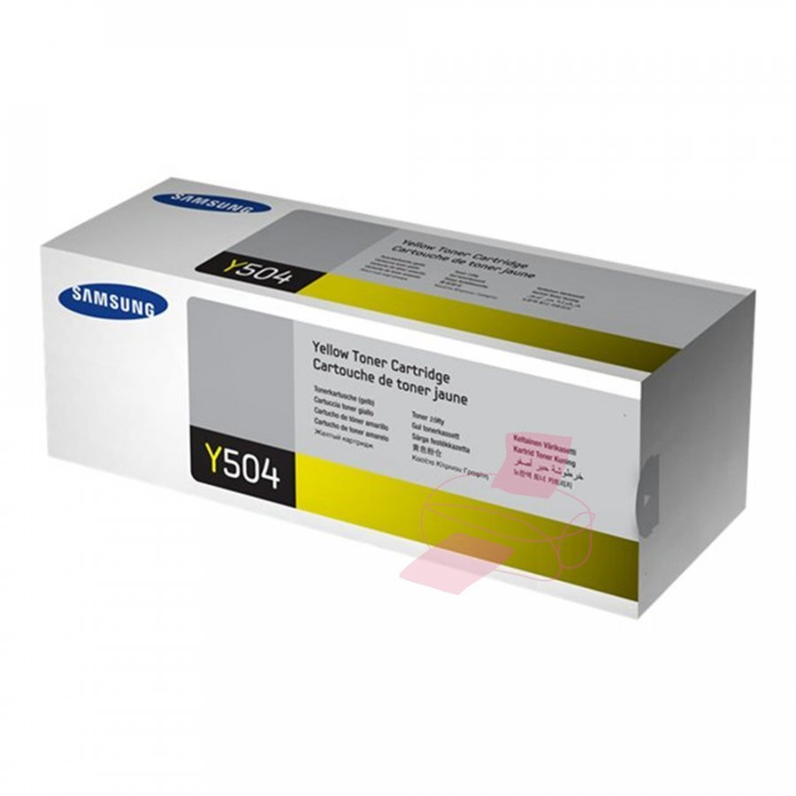 Samsung CLT-Y504S Keltainen Värikasetti